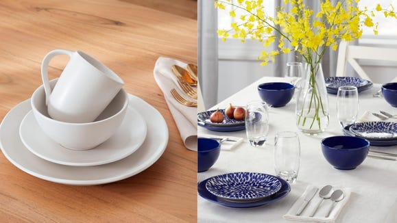 Save 50% on these summer-ready dinnerware sets from Home Depot.
