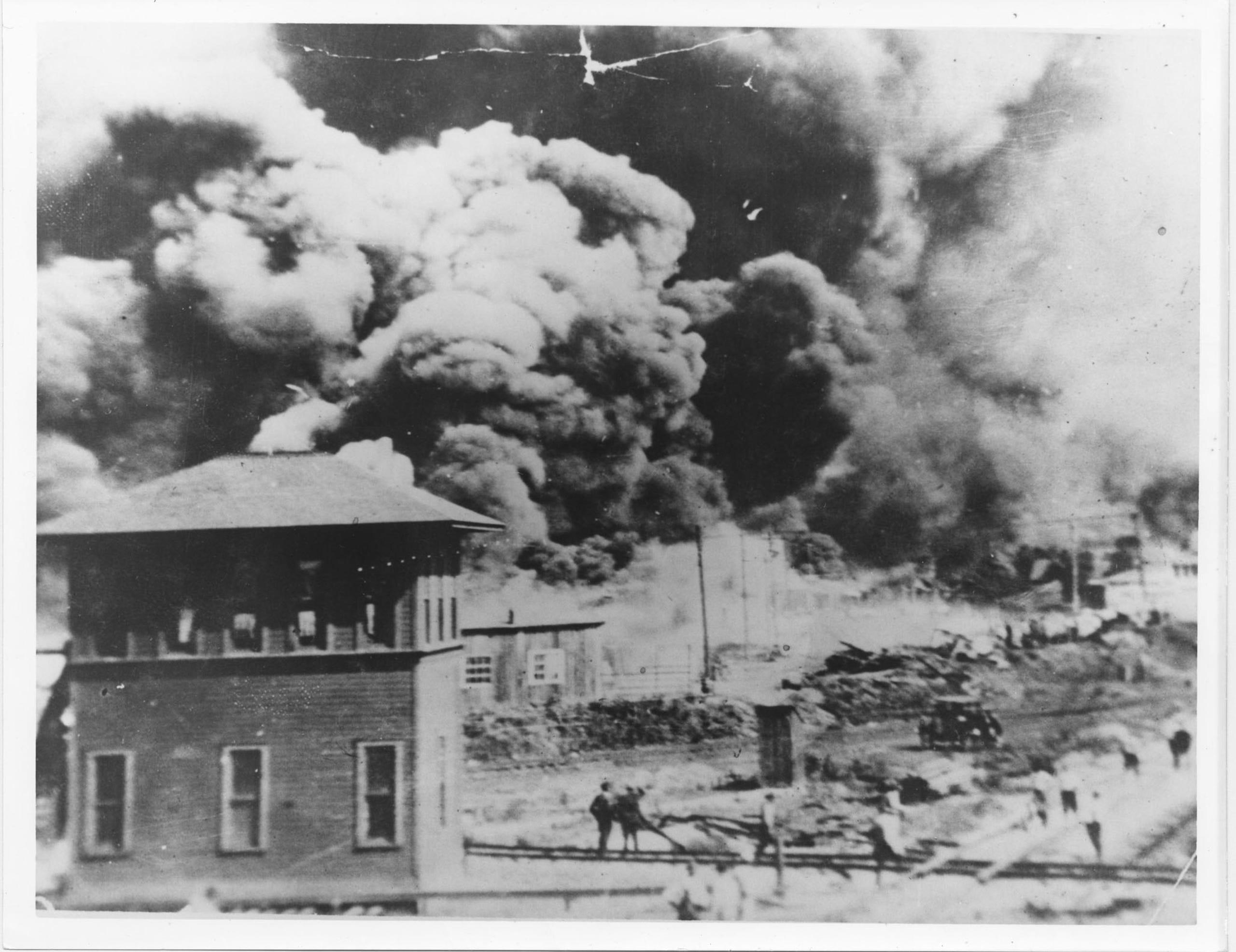 1921 Tulsa Race Massacre destroyed 'Black Wall Street' community
