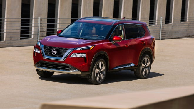 Best Selling Suv 2021 Nissan Rogue redesigned: 2021 SUV gets makeover