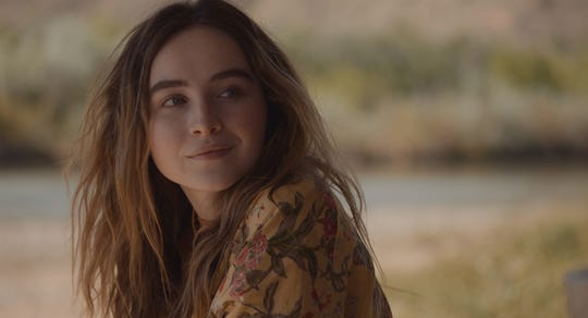 """Sabrina Carpenter plays a nomadic teen girl who heads to New Mexico to meet the mother she never knew in the coming-of-age drama """"The Short History of the Long Road."""""""