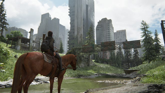 """Most of """"The Last of Us Part II"""" takes place in the ruins of Seattle."""