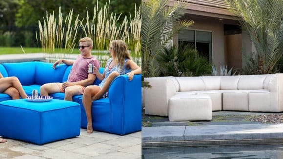 Modular, modern, and incredibly sleek, it's the perfect answer to intimate outdoor gatherings.
