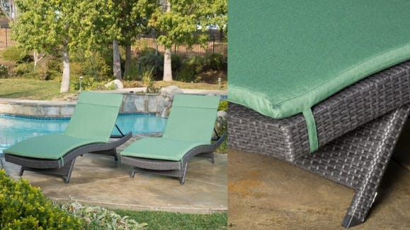 These chairs instantly transform your yard into a five-star resort.