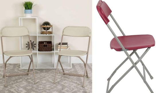 Durable chairs, whenever and wherever you need them.