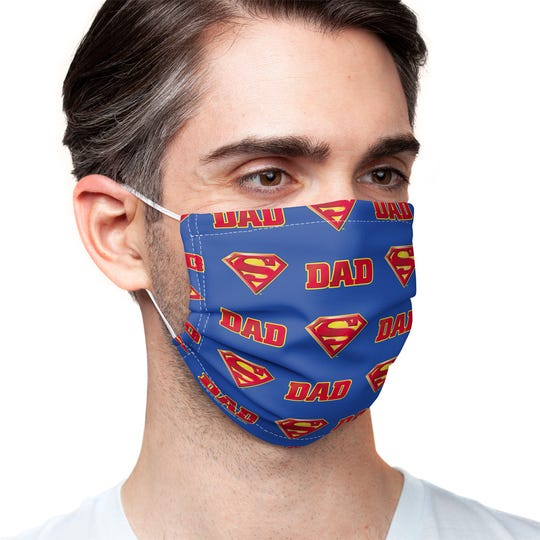 """One offering in MaskClub's Father's Day collection is fit for a """"Super"""" dad."""