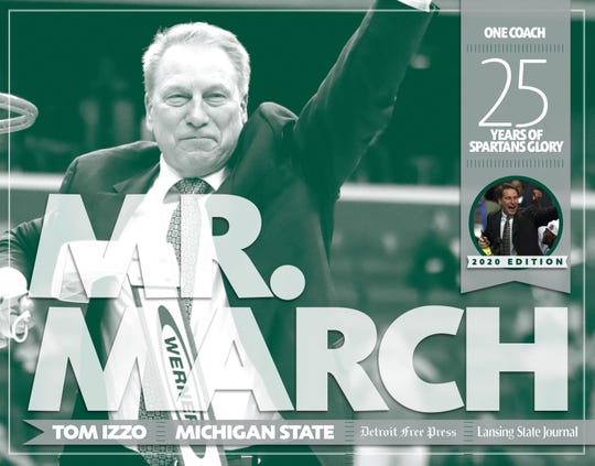 """""""Mr. March: 25 years of Spartan Glory,"""" Pediment, 2020"""
