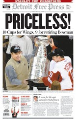 Detroit Free Press 1A front page on June 14, 2002.