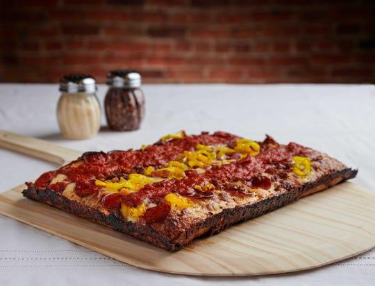 PizzaPapalis new Detroit-style pizza.