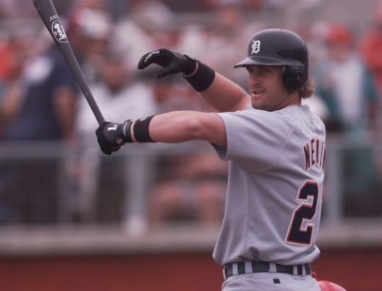 Phil Nevin was drafted No. 1 overall by the Houston Astros in 1992 but was traded to the Detroit Tigers in 1995.