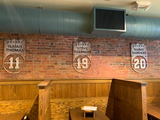 PizzaPapalis pays tribute to Detroit sports legends in redesign.
