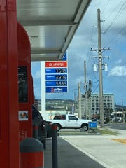 Gas prices are up again, with regular gas at $3.58 a gallon.