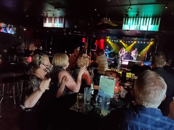 The crowd at Cactus Jack's in Ahwatukee on June 12.
