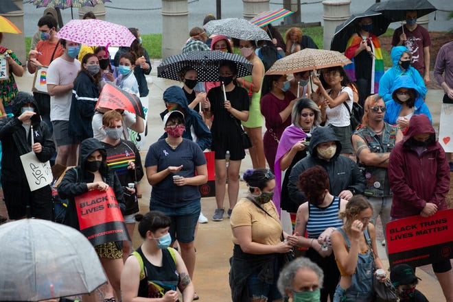 Over 100 people attended a vigil and speakout event held at the Florida Historic Capitol to remember the lives of those lost at Pulse Nightclub four years ago Friday, June 12, 2020.