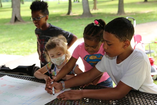 The Kids For Peace rally was held at Valor Park in Oak Grove, Kentucky, on Saturday, June 13, 2020.