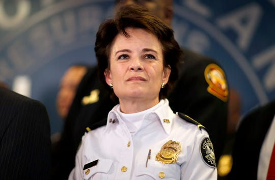 Atlanta Mayor Keisha Lance Bottoms announced that Police Chief Erika Shields is resigning after an officer fatally shot a man who snatched an officer's Taser and ran after a struggle in a restaurant parking lot.