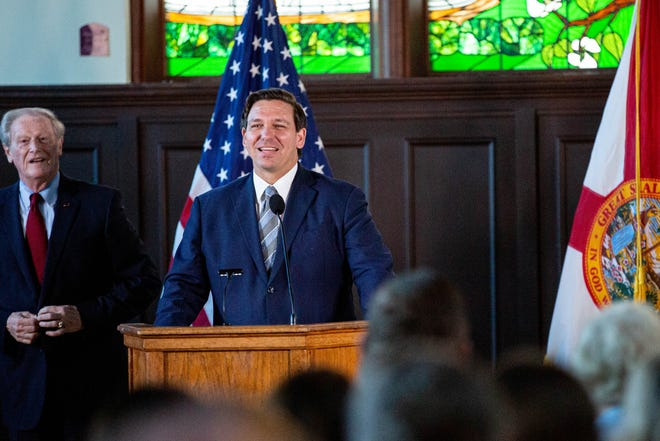 Governor Ron DeSantis unveiled a bill on Friday that will make Florida the first US state to allow college athletes to profit from thier own likeness.