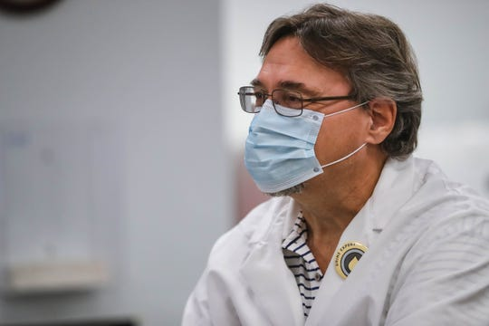 Stefan Long, the chief operating officer of Vanguard Genetics and Alliance DNA Laboratory, is pictured at the facility on the campus of New Mexico State University in Las Cruces on Friday, June 14, 2020.