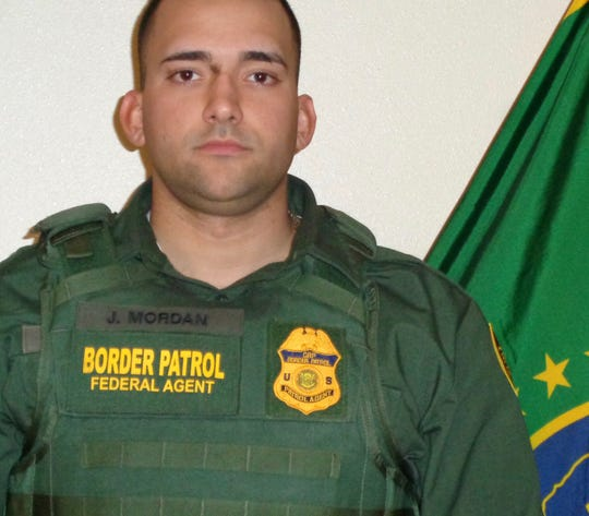 U.S. Border Patrol Agent Johan Mordan, 26, of the Lordsburg Station, died while on patrol in the New Mexico Bootheel on June 11, 2020.
