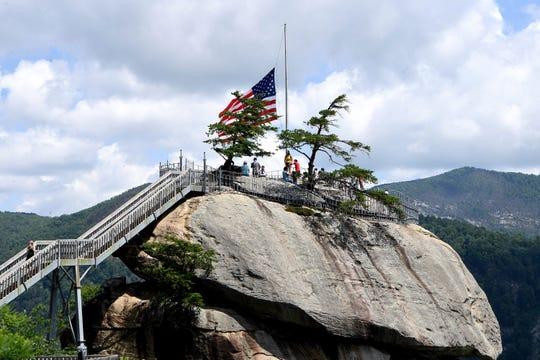 Chimney Rock State Park in North Carolina.