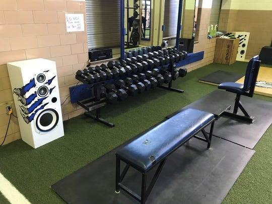 Crestline's updated weight room opened Monday for athletes to use.