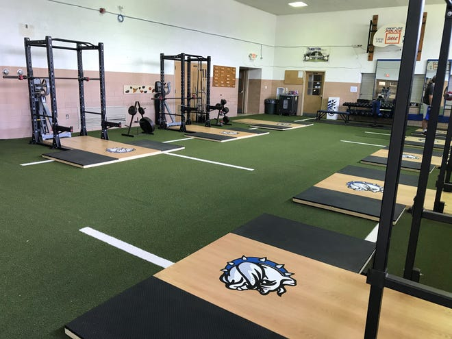 The Bulldogs began voluntary lifting in the new facility on Monday.
