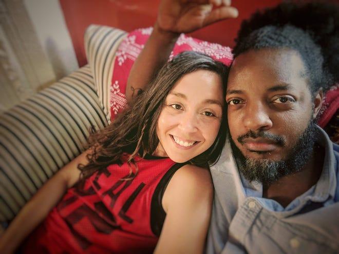 Jayshan and Sarah Bates.