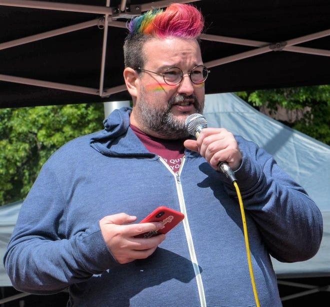 Kevin Hamm, president of Big Sky Pride