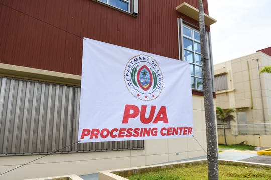 The Pandemic Unemployment Assistance Processing Center at the Guam Community College campus in Mangilao in this June 15 file photo.