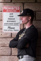 Pete Crow-Armstrong is a center fielder who features dazzling defensive ability and constant energy on the field.