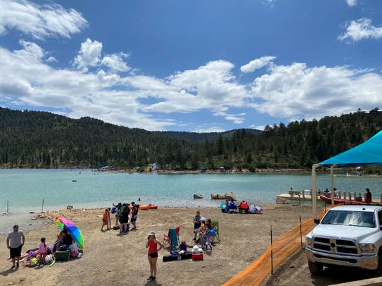 Grindstone Lake was host to an abundance of visitors on June 13.