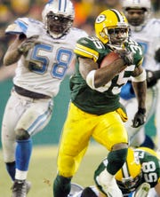 Packers running back Samkon Gado rushed for 171 yards against the Lions in 2005.