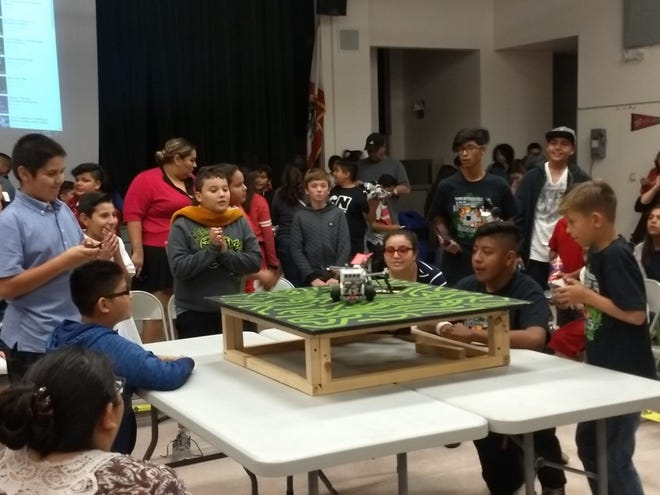 Desert Sands Unified School District students take part in a technology competition. Debra Vogler argues against antipathy toward science and technology as a barrier to growing the Coachella Valley's economy.