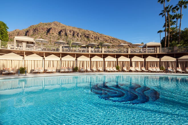 At the center of it all is The Phoenician Pools, a spacious, three-tiered complex complemented by luxurious, private cabanas.