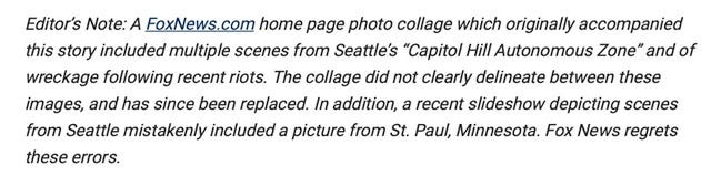 Fox News has posted this apology on websites that had doctored photos.