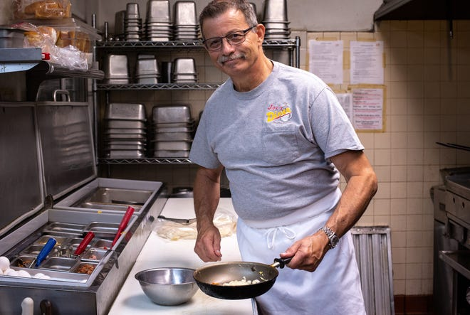 A portrait of owner Joe Seriale in the kitchen, June 8, 2020, at Joe's Diner.