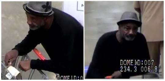 Shreveport police believe this man is responsible for a theft that was reported on May 15 at the Walmart located in the 1600 block of East Bert Kouns.