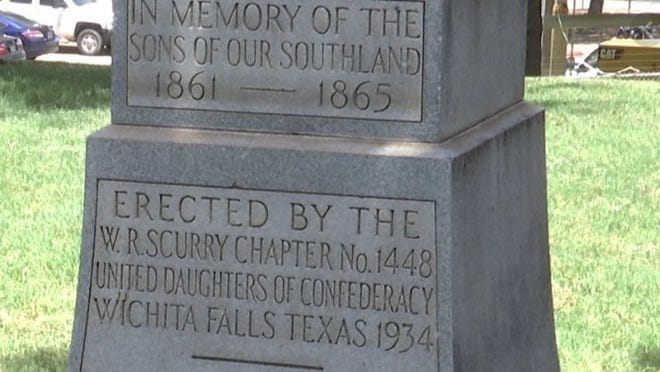 A counter-petition was placed online to keep a Confederate monument after an initial petition urged its removal from public property in Wichita Falls.