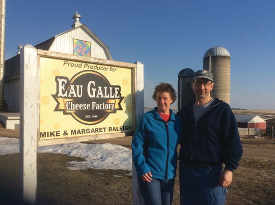 Margaret and Mike Raleigh of Spruce-Hill Holsteins in Elmwood, Wis.