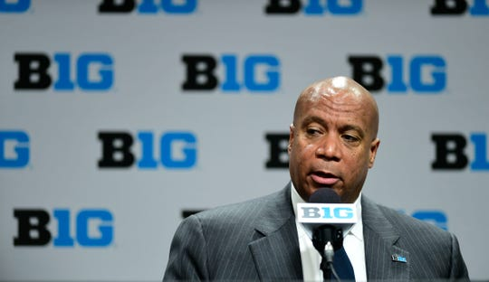 Big Ten Commissioner Kevin Warren said that conference athletes would be able to kneel during the national anthem if sports are played this fall.