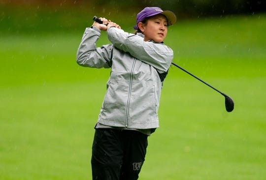 University of Washington golfer Brittany Kwon, a former Central Kitsap state champion, saw her freshman season halted in March due to COVID-19.