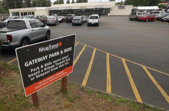 Kitsap Transit's Gateway Park & Ride on 6th Street in Bremerton on Tuesday, June 16, 2020.