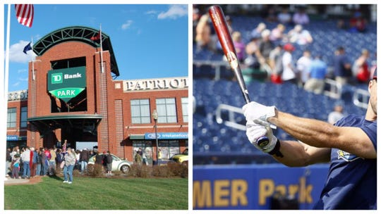Organizers of the Last Dance are hopeful the final four rounds of the baseball tournament can be contested at professional stadiums including TD Bank Ballpark, left, and Arm & Hammer Park, right.