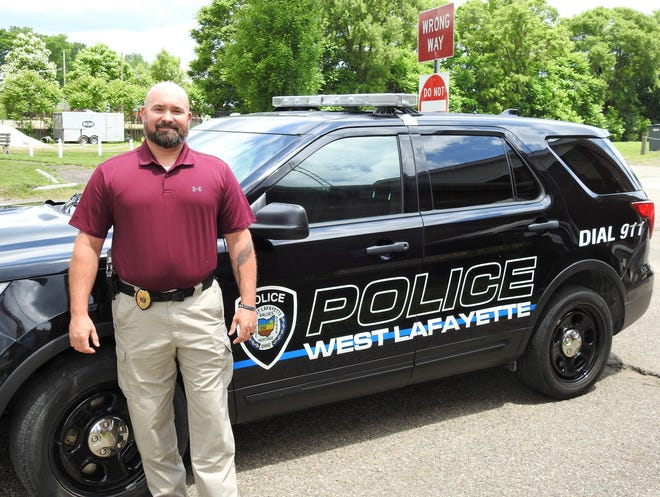 West Lafayette Police Chief Matthew Fohl.