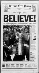 Detroit Free Press front page on June 17, 1998.