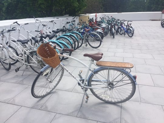 Looking to encourage tourists to explore the island and practice social distancing, Mission Point Resort partnered with Detroit Bikes to creates its own line of hotel bikes.