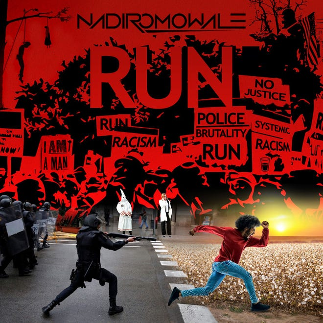 """""""Run"""" by Detroit area musician Nadir Omowale will be on Bandcamp Friday in honor of Juneteenth."""