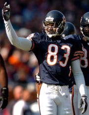 Former Michigan receiver David Terrell was the eighth overall pick by the Chicago Bears in 2001.