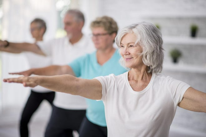 The benefits of yoga for seniors range from reduced stress to a sharper mind.