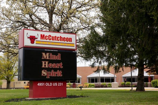 McCutcheon High School, 4951 Old U.S. 231, Wednesday, May 13, 2020 in Lafayette.