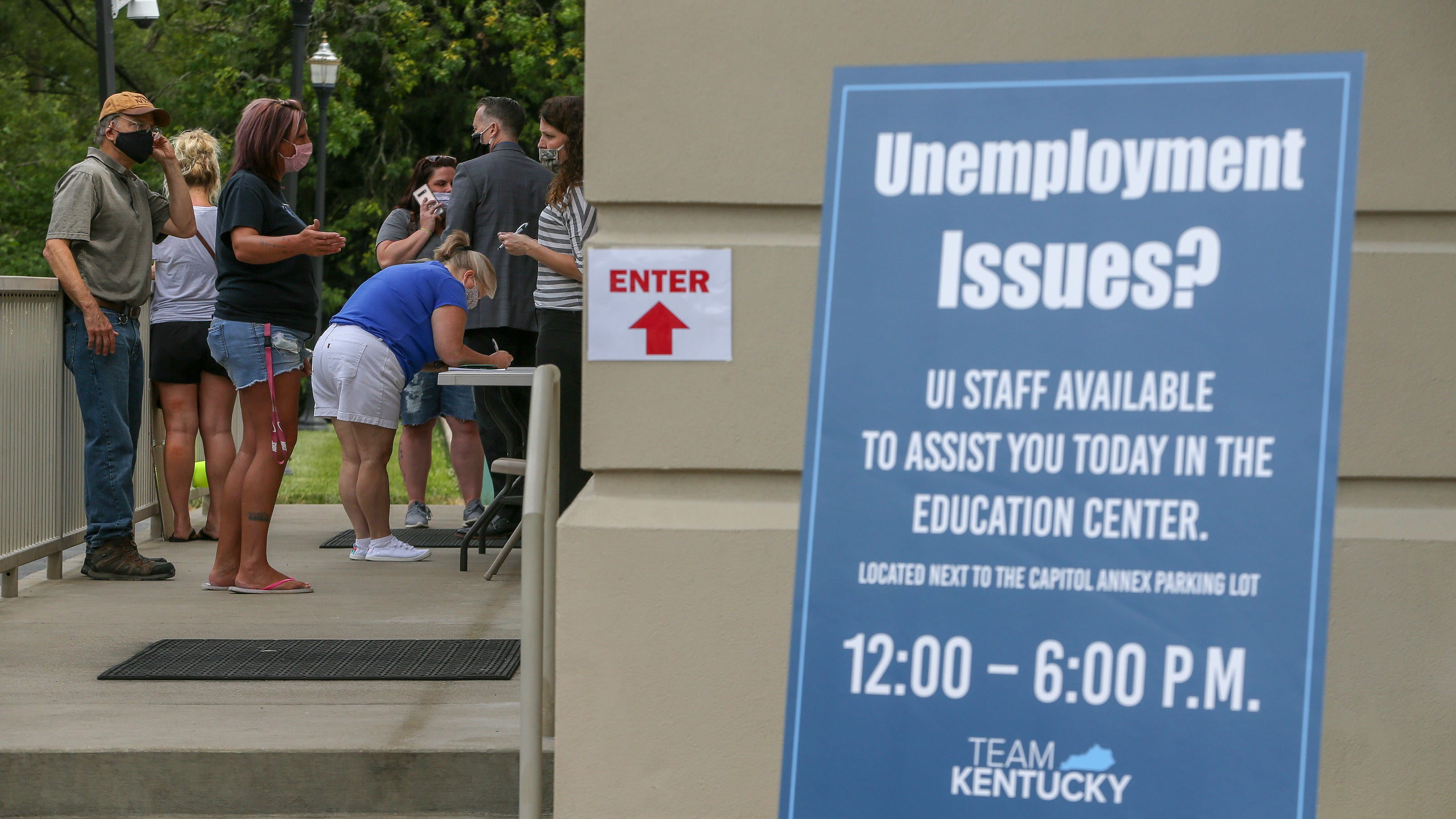 Most Kentucky unemployment backlog claims '95% complete ...